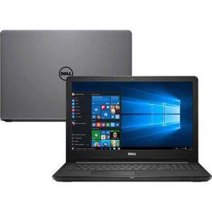 Notebook Inspiron I15-3567-A50C Intel Core I7 8GB 2TB LED 15.6'' Windows 10 Cinza - Dell | R$2988