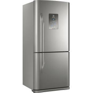 [Cartão Sub] Geladeira/Refrigerador Frost Free Bottom Freezer Electrolux 598l Db84x Inox - R$3120