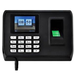 Relógio De Ponto Biométrico Satellite A-fa31 Para Até 1.000 Impressões Digitais | R$164