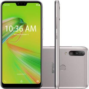 "Smartphone Zenfone Asus Max Shot 64GB Dual Chip Android Oreo Tela 6,2"" Qualcomm QSP SIP1 4G - R$859"