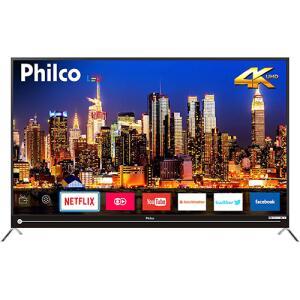 "Smart TV LED 55"" Philco PTV55G50SN Ultra HD 4k 3 HDMI 2 USB | R$1.799 (R$1.7.09 com AME)"