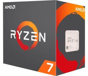 PROCESSADOR AMD RYZEN 7 2700 OCTA-CORE 3.2GHZ (4.1GHZ TURBO) 20MB CACHE AM4, YD2700BBAFBOX - R$949