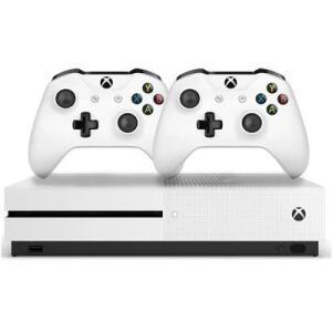 Console Microsoft Xbox One S 1TB 234-00603 2 Controles Branco R$1059