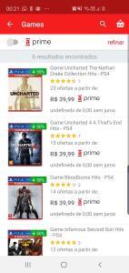 (Oferta secreta) Jogos para Ps4 por R$40