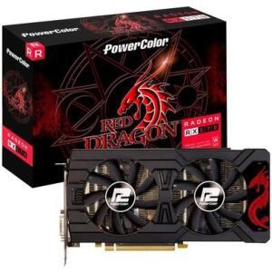 Placa de Vídeo PowerColor Red Dragon AMD Radeon RX 570 4GB, GDDR5 - AXRX 570 4GBD5-3DHDV2/OC R$499