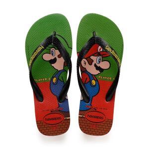 Chinelos Havaianas Mario Bros por R$22