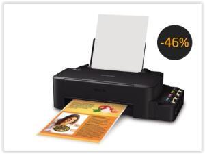 Impressora Tanque de Tinta Epson EcoTank L120 Colorida por R$ 512