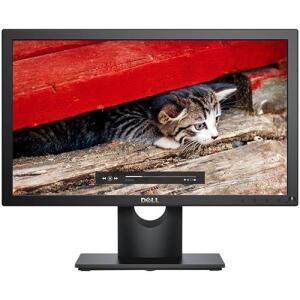 """Monitor LCD LED 18,5"""" Dell E1916h Preto - R$387"""