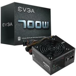 Fonte EVGA 700W, 80 Plus White