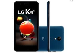 Smartphone LG K9, 16GB, 8MP, Tela 5´, TV Digital, Azul/Indigo - X210 TV - R$440