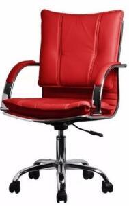 Cadeira Escritório Executiva Desenho Italiano - R$177