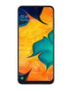 "Smartphone Samsung Galaxy A30 A305GT Android 9.0 Tela 6.4"" 64GB TV Câmera 16MP + Câmera Dupla 16+5MP - Branco - R$1.049"