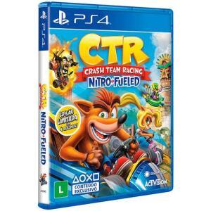 [R$136 com AME] Game Crash Team Racing Nitro-Fueled Edição Padrão - PS4 |  R$169
