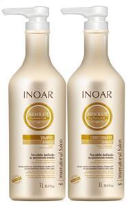 Kit Shampoo e Condicionador DayMoist Ultra Hidratante com CLR, Inoar, 1L   R$86