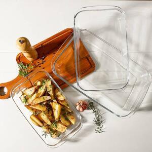 Jogo de Assadeiras Marinex 3 peças - La Cuisine by Nadir | R$58