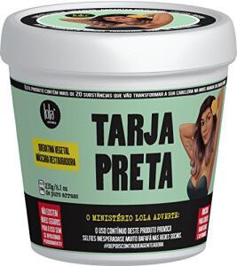 Máscara Tarja Preta Queratina Vegetal, Lola Cosmetics | R$25