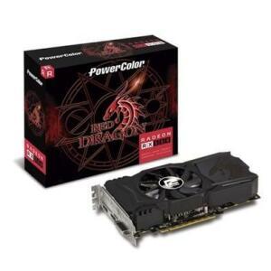 Placa de Vídeo PowerColor Red Dragon AMD Radeon RX 550 4GB, GDDR5 - AXRX 550 4GBD5-DHA