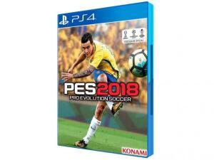 PES 2018 para PS4 - Konami | R$18