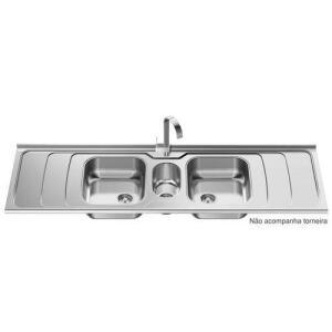 [AME] Pia de Cozinha Dubai Full 200 cm Polida por R$ 567