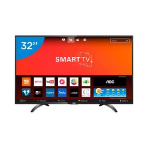 Smart TV LED 32 Polegadas AOC LE32S5970S HD Wifi 2 USB 3 HDMI por R$735