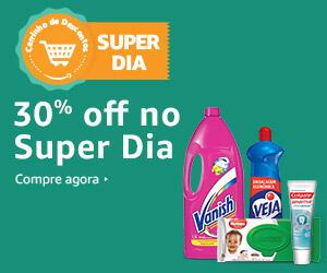 70% OFF na compra de 5 produtos do Carrinho de Descontos da Amazon! + R$10 OFF no APP