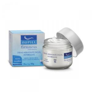 Creme Hidratante Facial Antirrugas Nupill | R$16
