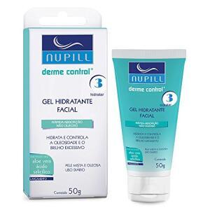 Gel Hidratante Facial Nupill Derme Control 50g | R$14