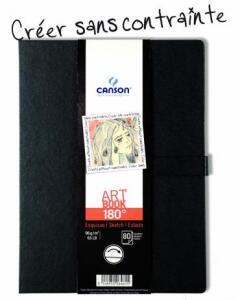 Sketchbook Art Book 180 96 g/m² A-5 14 x 21,6 cm com 80 Folhas Canson | R$62