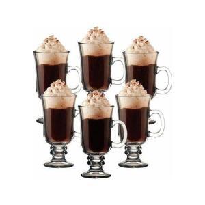 Kit Com 6 Taça Canecas Para Capuccino Café Chantilly 240 Ml | R$47