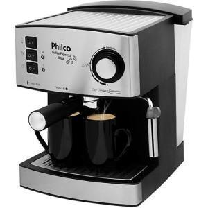 Cafeteira Expresso Philco Coffee Express - Inox - 15 Bar - R$279