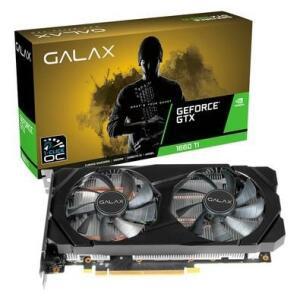 Placa de Vídeo Galax NVIDIA GeForce GTX 1660 Ti 1-Click OC 6GB, GDDR6
