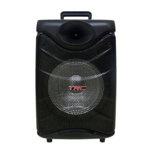 Caixa de Som Amplificada TRC 517 Bluetooth, USB, Entrada para Microfone, Rádio FM e Iluminação 190W - R$300