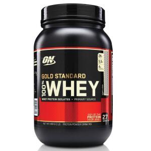 [R$77,34 AME] Whey Protein Gold 100% 909g - Cookies E Cream - Optimum Nutrition por R$ 103