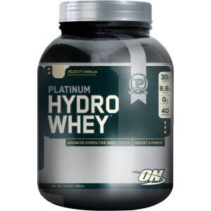[R$158,40 AME] Whey Hydro Platinun Suplemento Alimentar 1590g Baunilha - Optimum Nutrition