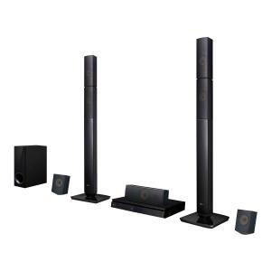 Home Theater LG LHB645N Full HD com Blu-Ray 3D Bluetooth 5.1 Canais Sound Sync Wireless 1000W | R$1.199