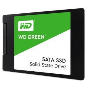 SSD WD Green, 240GB, SATA, Leitura 545MB/s, Gravação 465MB/s - WDS240G2G0A - R$180
