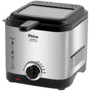 Fritadeira Philco Deep Fry Inox 1,8L - R$110