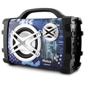 Caixa Acústica Philco PCX120 Com Conexão Bluetooth - Bivolt | R$192