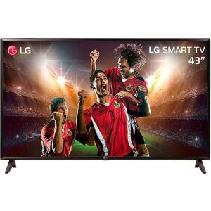 [Cartão Shoptime] Smart TV LED 43'' Full HD LG 43LK5700 com IPS ThinQ AI WI-FI Processador Quad Core e HDR 10 Pro | R$1.274