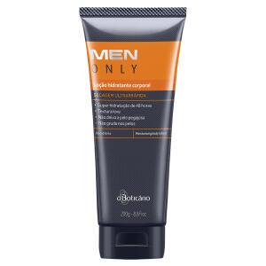 MEN Only Loção Hidratante Desodorante Corporal, 200ml por R$ 17