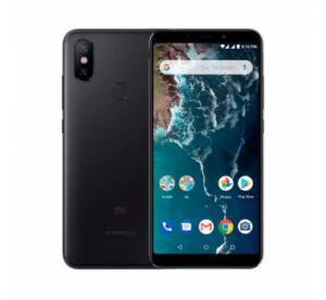 Smartphone Xiaomi Mi A2 dual Android 8.1 Tela 5.99 64GB 4GB RAM Snapdragon 660 e dupla 12+20MP - Preto  | R$891