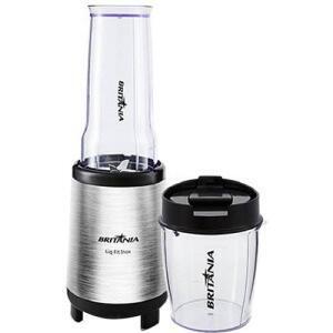 Liquidificador Britânia Fit Inox com 1 Velocidade e 240W – Aço Escovado - R$119