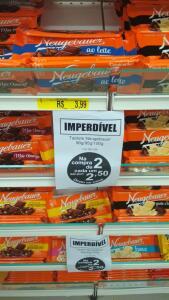 [Serra - ES] [Loja Americana] 2 barras chocolate Neugebauer por R$5