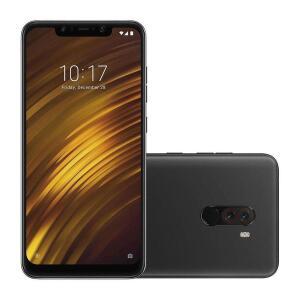 Smartphone Xiaomi Pocophone F1 Dual Chip Android 8 Tela 6.18 128GB 4G Câmera 20MP - Preto - R$1.650