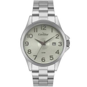 [APP] - Relógio Condor Masculino Casual Prata Co2115ktv/3v