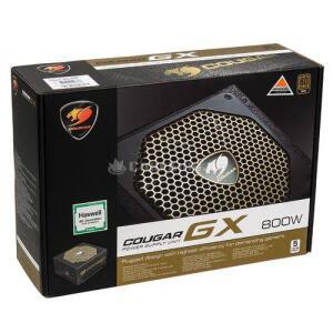Fonte Cougar 800W GX800 V3 80 Plus Gold R$71 CashBack com AME