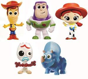 Toy Story 4 - Ts4 Pack 5 Mini Figuras Gjn36 Mattel Colorido - R$75