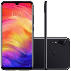 Smartphone Xiaomi Redmi Note 7 64GB Versão Global Desbloqueado Preto R$961
