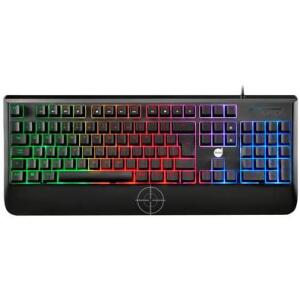 Teclado Mecânico Gamer Dazz Ultra Fire Revolution, Rainbow, ABNT2 - R$135