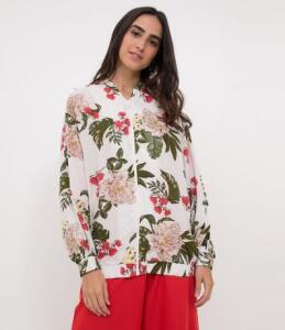 Jaqueta Floral Feminina - Renner R$80